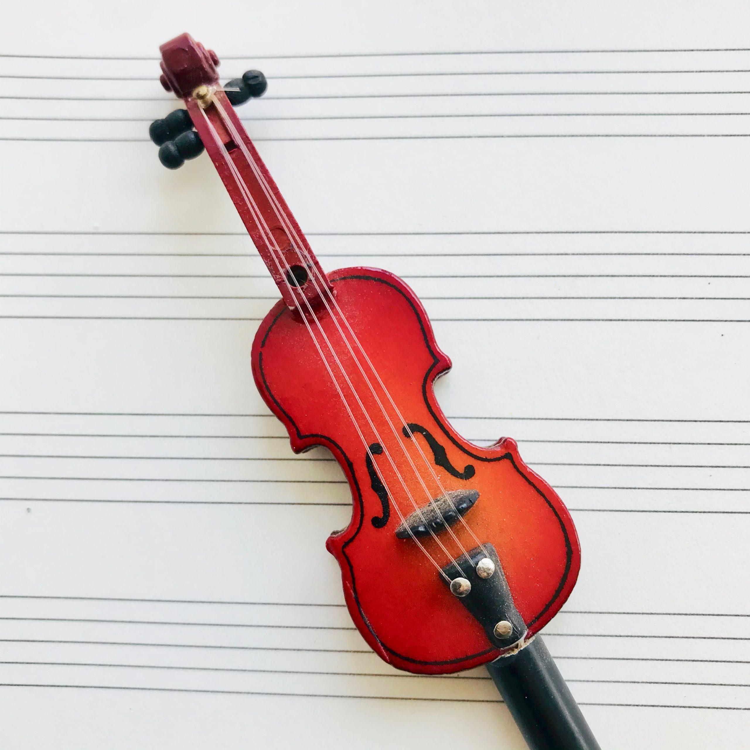 crayon miniature violon 2