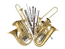 Le support pour instruments à vent