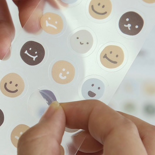 Les stickers