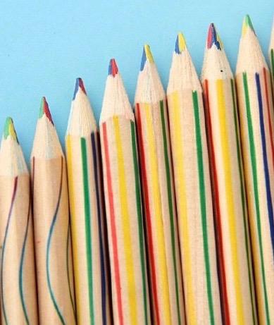 crayon multicolore 4