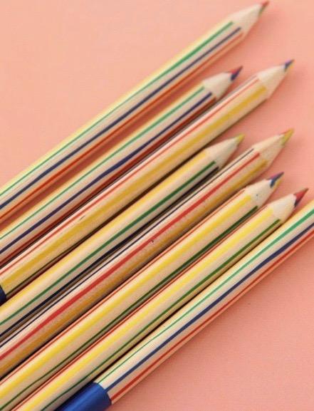 crayon multicolore 2