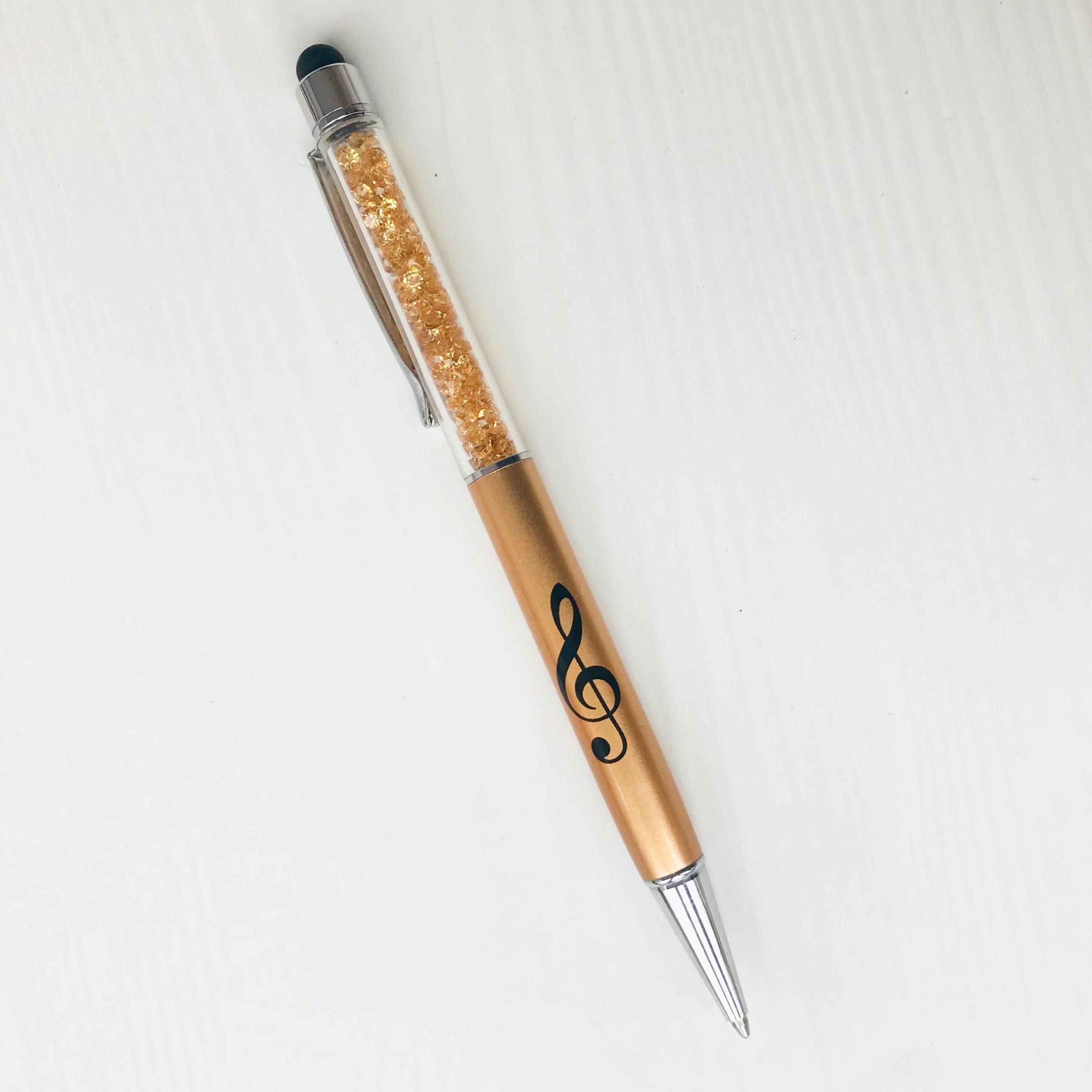 stylo à bille doré 3