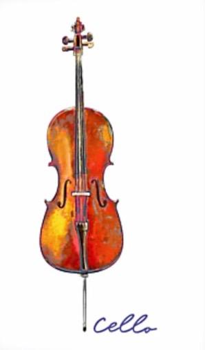 carte violoncelle