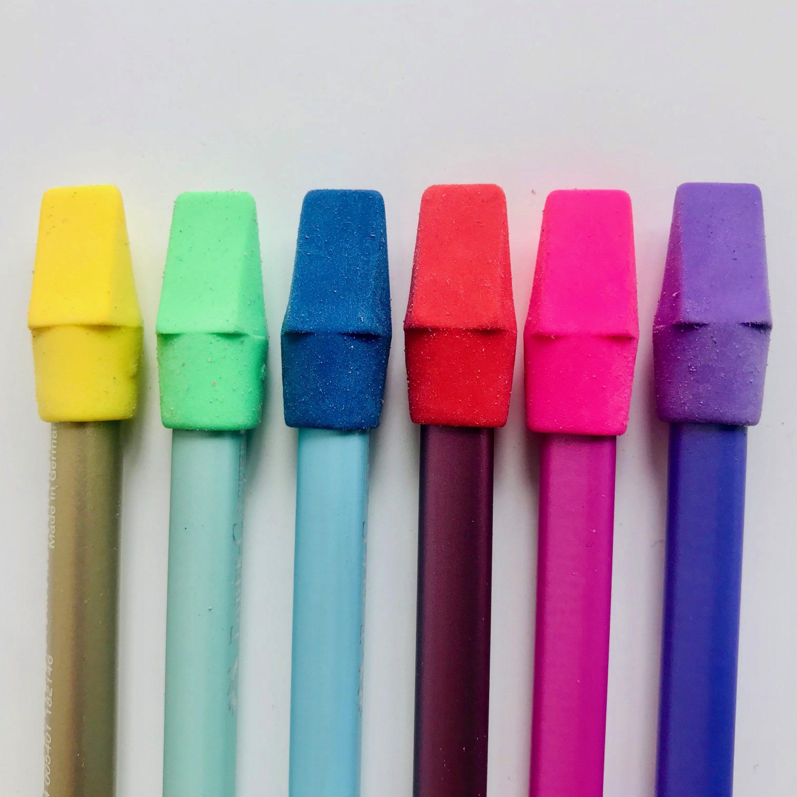 gomme capuchon couleur