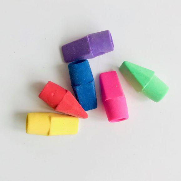 gomme capuchon couleur 3