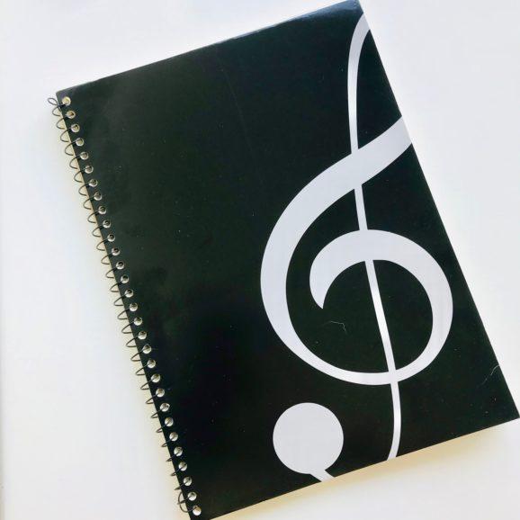 cahier de musique 10 portées 3