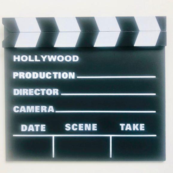 clap de tournage 2