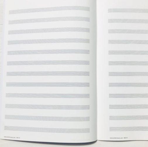 cahier de musique SchottA5 (2)