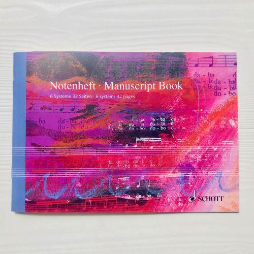 cahier-musique-Schott-A5-italien-6-portees