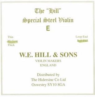 corde de mi violon Hill