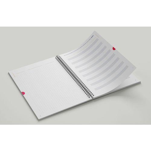 Les cahiers d'écriture et de portées
